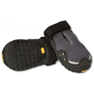 Hondenschoenen Ruffwear Bark'n Boots™ Grip Trex™ 2 stuks grijs