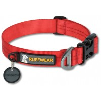 Ruffwear Hoopie Collar™ hondenhalsband rood