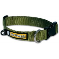 Ruffwear Hoopie Collar™ forest green hondenhalsband previous design