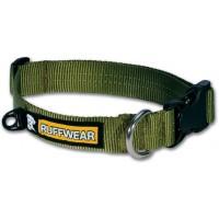 Ruffwear Hoopie Collar™ forest green hondenhalsband previous design