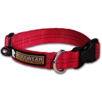 Ruffwear Hoopie Collar™ rood hondenhalsband previous design