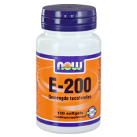NOW Vitamine E-200 gemengde tocoferolen