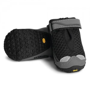Hondenschoenen Ruffwear Grip Trex 4 stuks zwart
