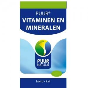 PUUR Vitamine en Mineralen Hond en Kat 250gr